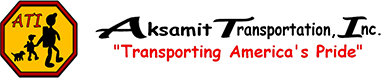 ATI | Aksamit Transportation, Inc. | Transporting America's Pride - logo